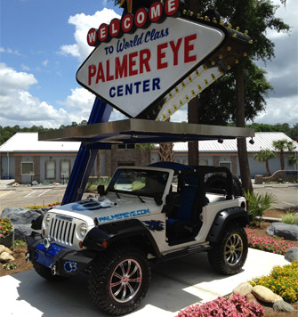 Palmer Eye Center Jeep